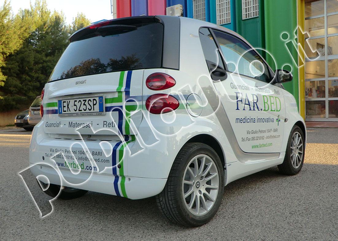 Super Decorazione e Personalizzazione Grafica Auto Aziendali (Car  AX43