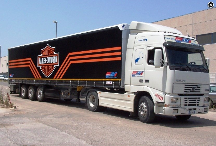 Decorazione e personalizzazione grafica camion e rimorchi - Foto di grandi camion ...