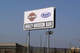 Cartellonistica Harley davidson