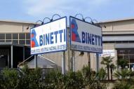 Grande impianto pubblicitario Binetti